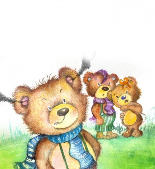 Το Θυμωμένο Αρκουδάκι